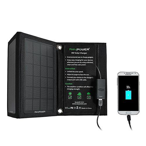 The 3 Best Solar Chargers for the Outdoors