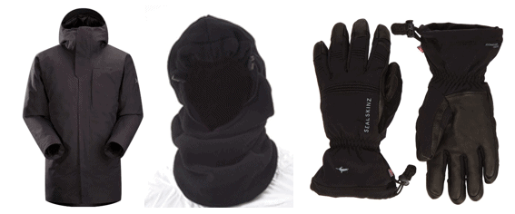 top cold weather gear
