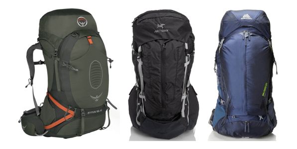 top internal frame backpack