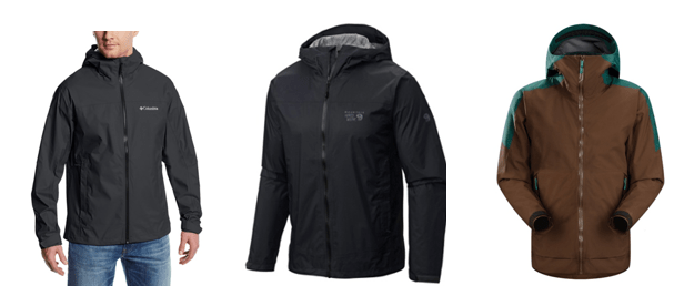 3 Best Lightweight Rain Jackets for Backpackers Campers and