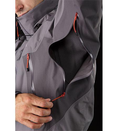 Beta-LT-Hybrid-Jacket-Anvil-Grey-Pit-Zip