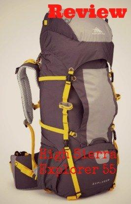 High Sierra Explorer 55 Backpack Review
