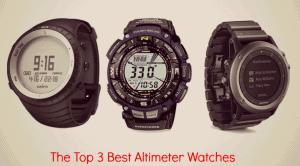 The Top 3 Best Altimeter Watches