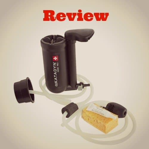 A Review of the Katadyn Hiker Pro Microfilter
