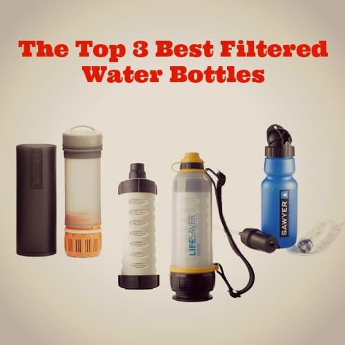 The Top 3 Best Filtered Water Bottles