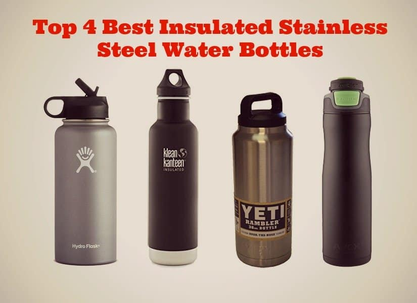 The 4 Best Stainless Steel Water Bottles