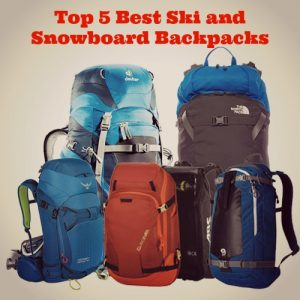Let's Hit the Slopes! The Top 5 Best Ski and Snowboard Backpacks