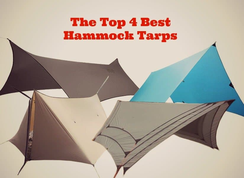 the top 4 best hammock tarps to keep you dry anywhere