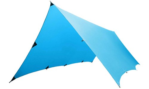 the kammok kuhli rain tarp is about as versatile as you can get when it comes down to configurations