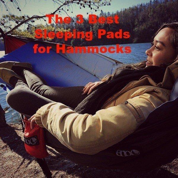 The 3 Best Sleeping Pads for Hammocks