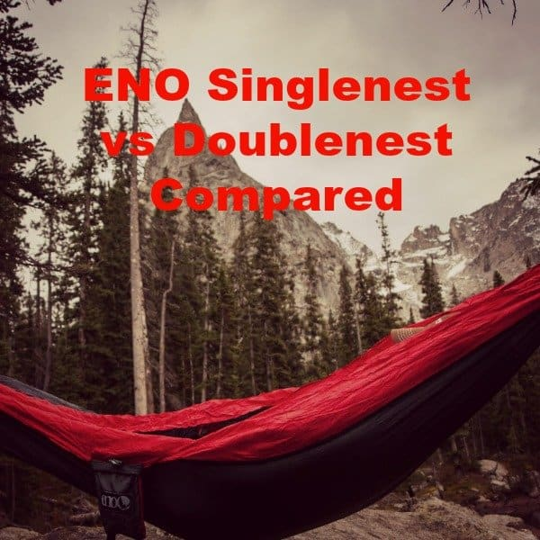 Eno hammock singlenest vs doublenest