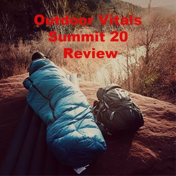 Outdoor Vitals Summit 20 Review – Features, Pros and Cons