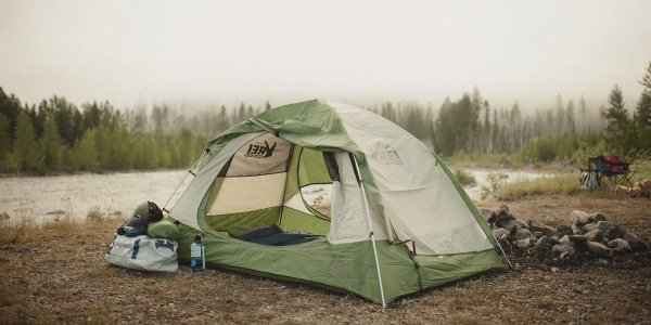 tent with netting
