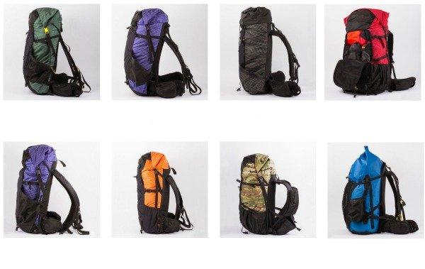 ula camino 2 backpacks
