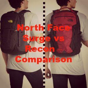 North Face Surge vs Recon Compared [2021]