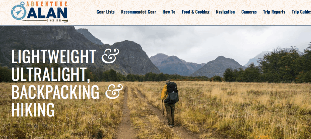 4e2550fb4 Adventure Alan is one of the best places hikers go online for quality  information on everything that has to do with hiking. These include: