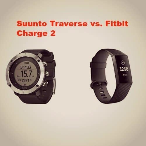 Suunto Traverse vs. Fitbit Charge 2