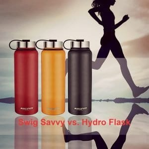 Swig Savvy vs. Hydro Flask: Which is Best for your Outdoor Adventures?