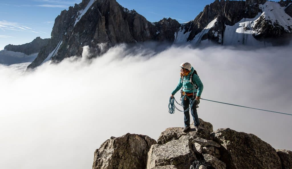 here are our top picks from Arcteryx for climbing jackets