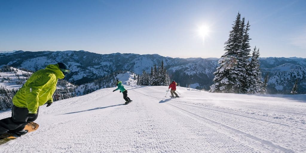 snowboarding and skiing are common activities