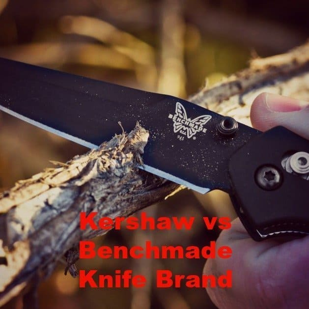 Kershaw vs Benchmade Knife Brand: Which has the Best Survival Knife?