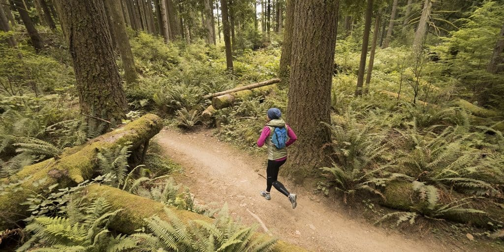 running trails is a totally different way to experience your favorite outdoor places