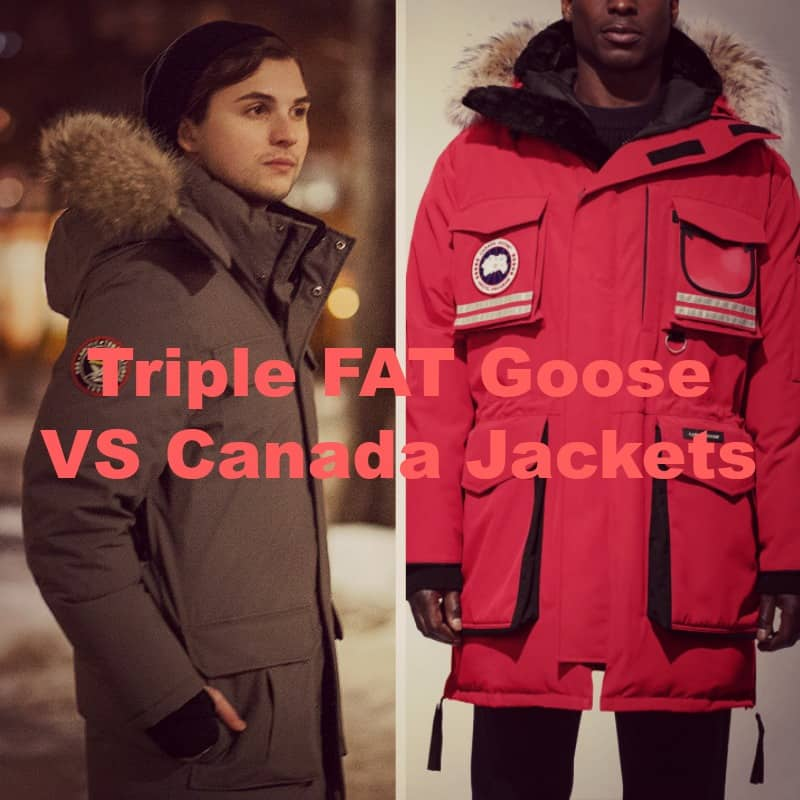 Canada Goose vs Triple FAT Goose [2021]
