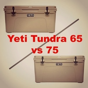 Yeti Tundra 65 vs 75: Which is the Best Yeti Hard Cooler?