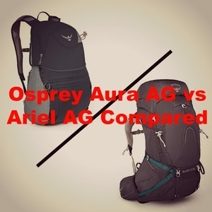 Osprey Aura AG vs Ariel AG [2020]: Which is the Best Backpack?