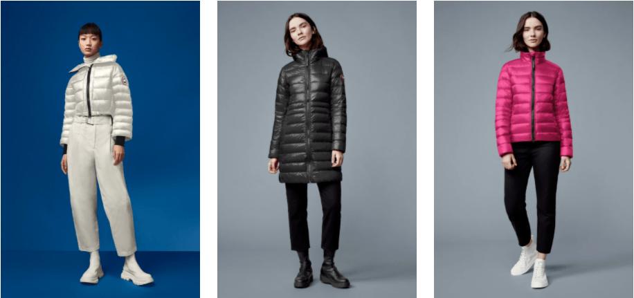 canada goose women's jackets