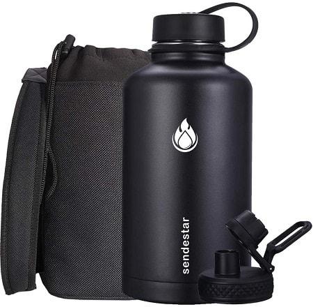 SENDESTAR Stainless Steel Water Bottle