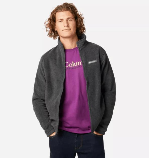 Men's Steens Mountain™ 2.0 Full Zip Fleece Jacket | Columbia Sportswear