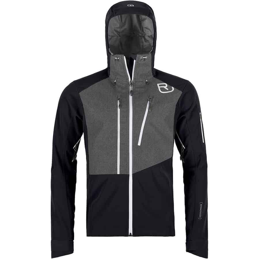 Ortovox Pordoi Hooded Softshell Jacket - Men's | Backcountry