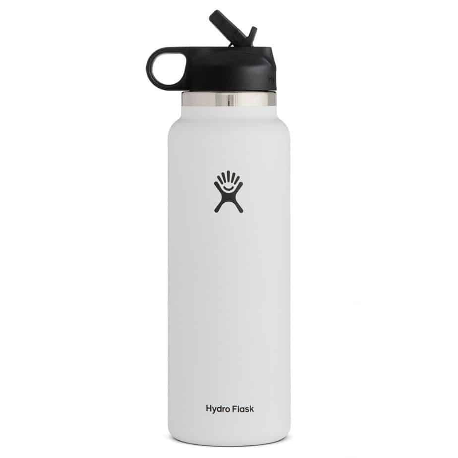 40 oz Wide Mouth w/ Straw Lid | Hydro Flask